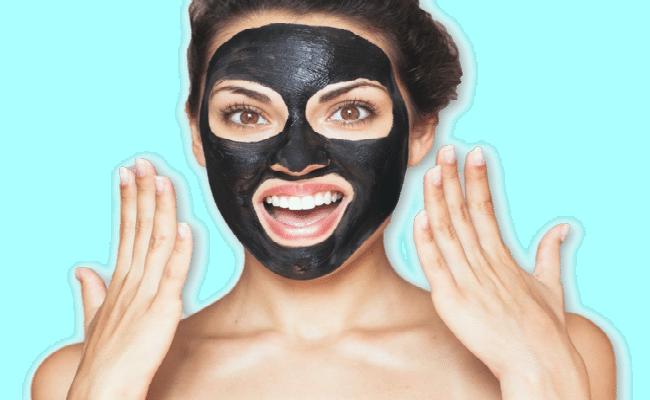mascarilla exfoliante negra y para piel sensible