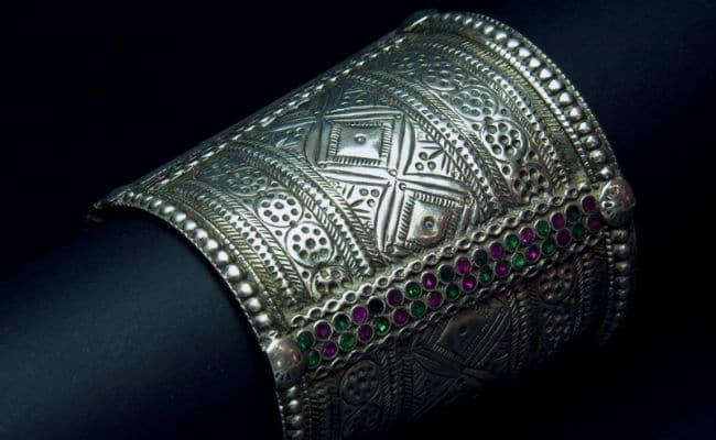 los mejores brazaletes de plata anchos y finos