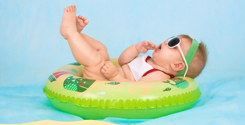 Baños para bebés con piel atópica