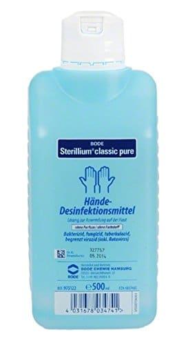 higienizador sterillium